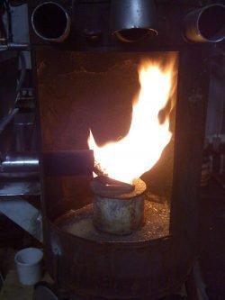 homemade pellet stove