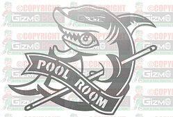 Pool Room DXF Plasma File