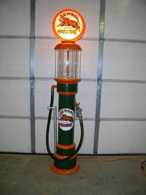 1920's Visible Gas Pump Reproduction