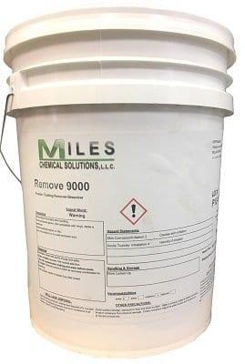 remove 9000 powder coat removal