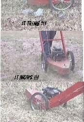 Build a Mower style Line Trimmer