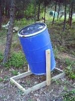 Barrel Style Compost Tumbler Plans