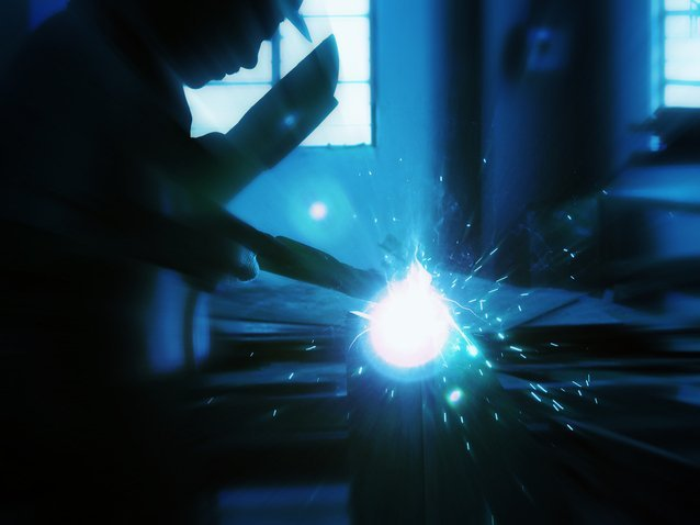 Plasma cutting is shown in this file photo.