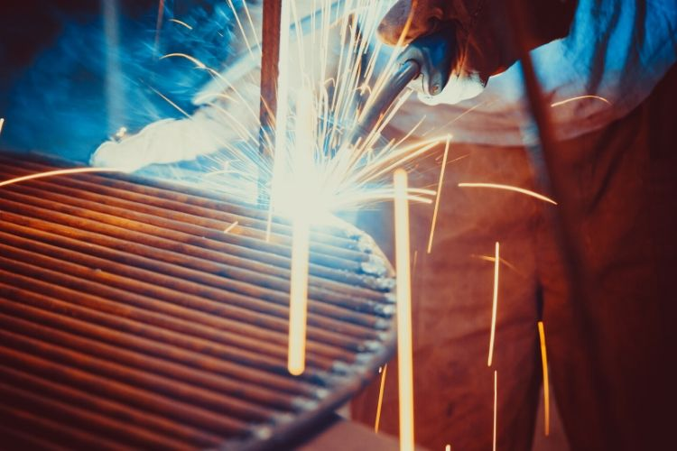 welding steel