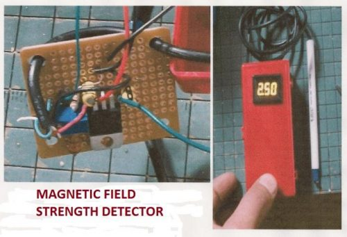 how to measure a magnetic field